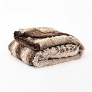 Faux Fur Blanket Bed Blanket Sofa Covered Carpet Plush Decorative Blanket