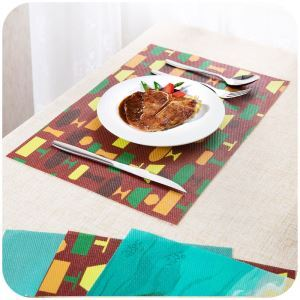 Dinning Table Pads Waterproof Table Mats Insulation Mats Table Mats Bowl Mats(4 pcs)