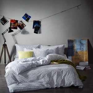 Simple Cotton Four-piece Black And White Series Bedding Warm Cotton Four-piece Black And White Star Four-piece Black And White Curve Four-piece Black And White Geometric Four-piece 200*230cm