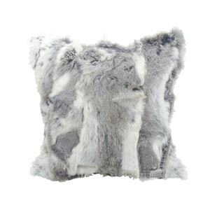 100% Genuine Rabbit Fur Pillow Cover Fur Cushions