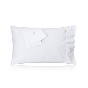 Cotton Satin Pillowcase 60S Solid Color Pillowcase Envelope Pillowcase 48*74 Cotton Pillowcase (a Pair)