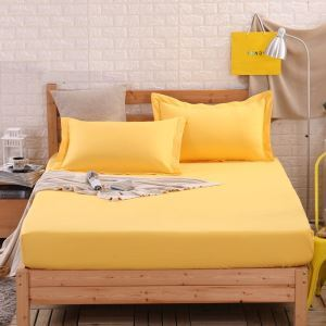 Fashion Simple Solid Color Mattress Contton Mattress Protection Cover 150*200cm