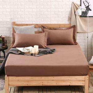 Fashion Simple Solid Color Mattress Contton Mattress Protection Cover 150*200cm
