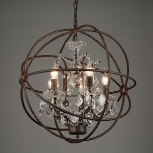 Chandeliers Crystal Traditional/Classic Bedroom / Dining Room Lighting Ideas / Entry / Hallway Metal