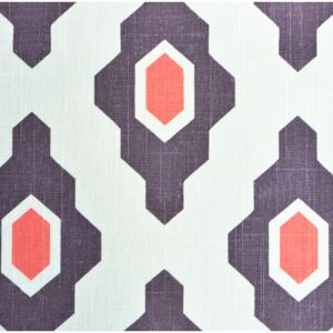 Geometric Printing Cotton And Linen Textile Fabrics