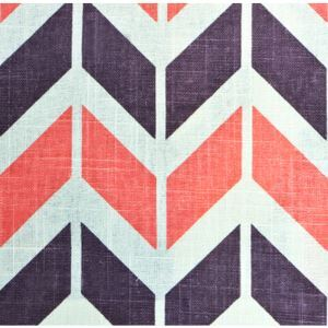 Wave Pattern Printing Cotton And Linen Textile Fabrics