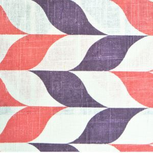 Twist Pattern Printing Cotton And Linen Textile Fabrics