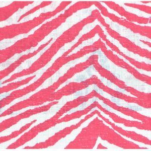 Fashion Simple Zebra Pattern Printing Cotton And Linen Textile Fabrics
