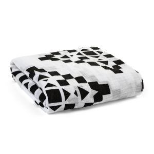 Homelava Self-designed Baby Cotton Yarn Towel Geometric Pattern 120*120cm
