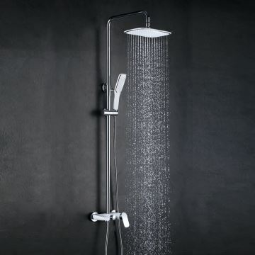 Faucets - Shower Faucets - European Modern Copper Shower Sets Hot ...