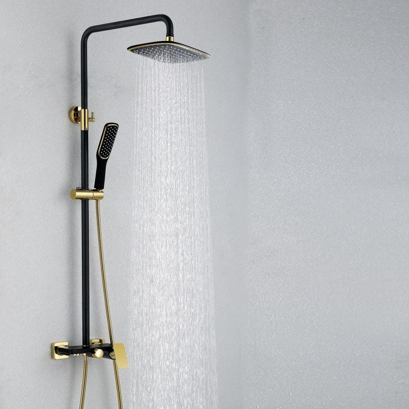Faucets - Shower Faucets - European Modern Copper Shower Sets Hot ...
