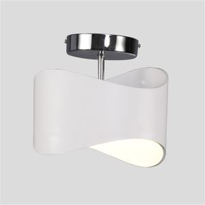 Modern Simple Metal + Acrylic Baking Paint LED Ceiling Light Neutral Light 4000K Energy Saving
