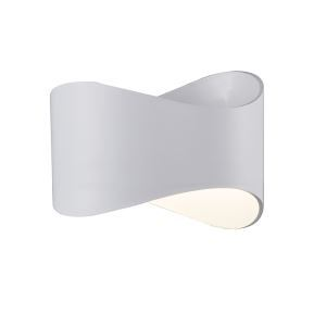 Modern Simple Metal + Acrylic Baking Paint LED Wall Light 4000K