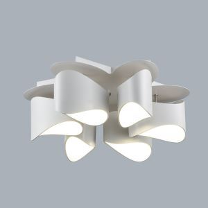 Modern Simple Metal + Acrylic Baking Paint LED Ceiling Light Neutral Light 4000K