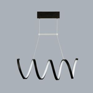 Modern Simple Metal + Plastic Baking Paint White / Warm White Light Black / White LED Ceiling Light
