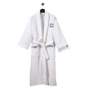 Superior Hotel Bathrobe Pajamas Couples Men And Women Spring And Summer Waffle Lattice Bathrobe Absorbent Breathable