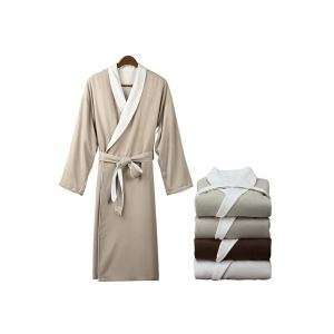 Senior Luxury Hotel Bathrobe Gown Double - Decked Men And Women Home Service Autumn And Winter Bathrobes Thickening Absorbent Couple Gown