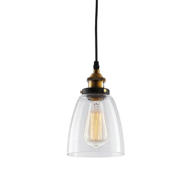 Industrial Bell Pendant Light: Pendant Lights