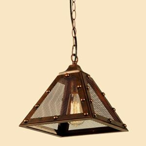 American Rural Industrial Retro Style Iron Craft Pendent Light