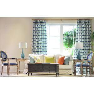 HomeLava Traditional Nordic Geometric Cotton / Lychee Blue Bedroom Living Room Sofa Pillow Cushion Cover Custom