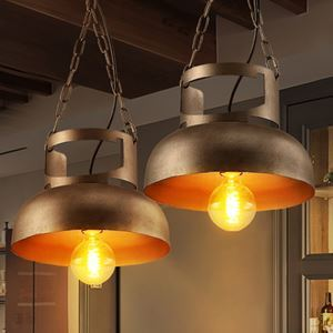 American Rural Industrial Retro Style Iron Craft Personalized Gas Tank Shape Pendant Light
