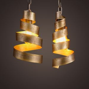 Mottled Iron 1 Light Stacked  Indoor Mini Pendant