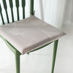 American Rural Like Cotton And Linen Shallow Sunflower Leaf Memory Cotton Core Cushion