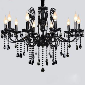 Crystal Chandelier with 10 Lights