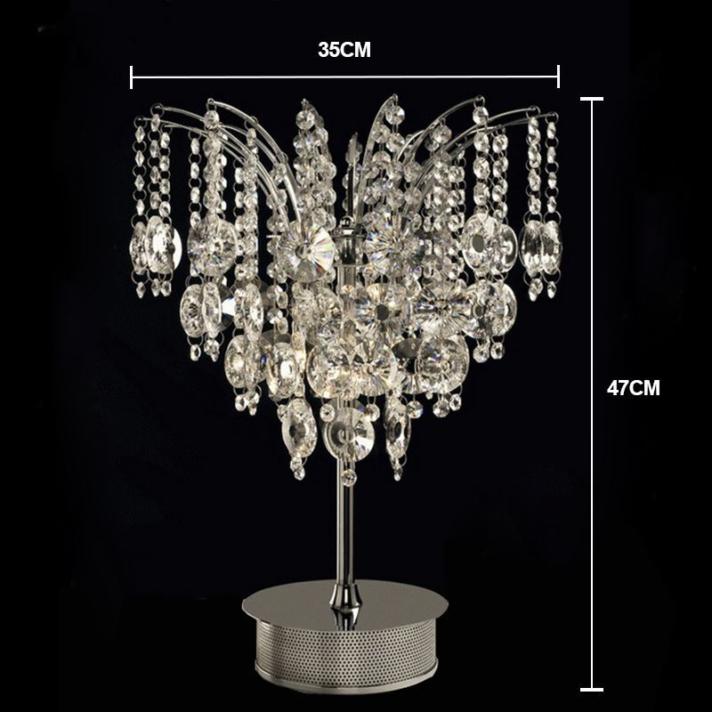 ... Modern Gorgeous Luxurious Crystal Table Lamp In Butterfly Shape Img_4  ...