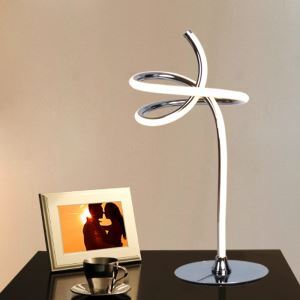 Modern Simple Aluminum Alloy + Acrylic Material Elegant Smart LED Table Lamps Energy Saving