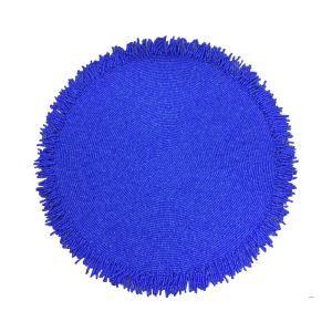 Handmade Beaded Blue Glass Bead Tassel Beading Placemat