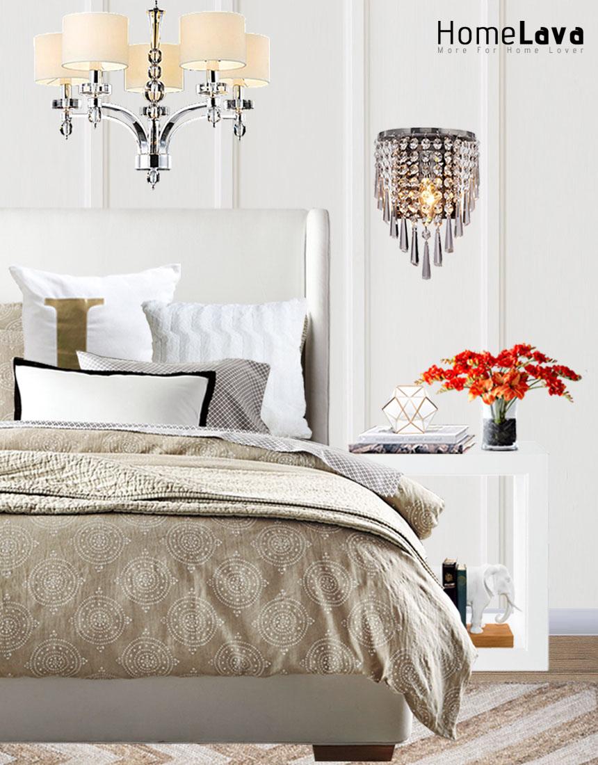 Elegant bedroom photo