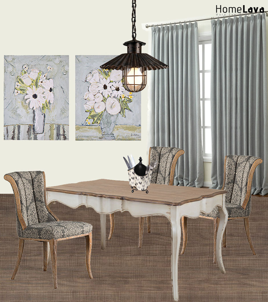 Country style dining room