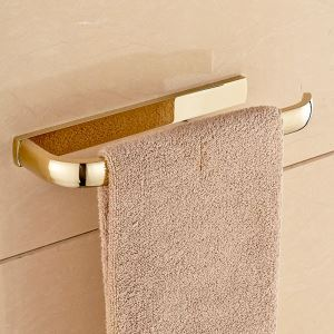 Modern Simple Style Bathroom Products Bathroom Accessories Copper Art Gold Towel Ring