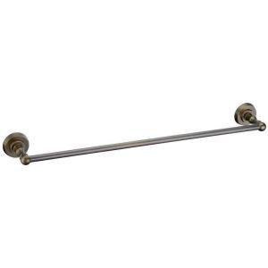 European Style Bathroom Products Bathroom Accessories Copper Art Retro Single Rod Towel Bar