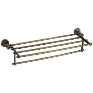 European Style Bathroom Products Bathroom Accessories Copper Art Retro Towel Rack