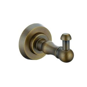 European Style Bathroom Products Bathroom Accessories Copper Art Retro Robe Hook