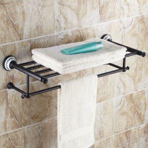 European Style Bathroom Products Bathroom Accessories Copper Art Retro Towel Rack