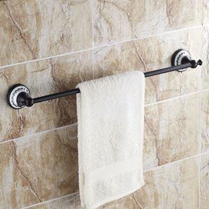 European Style Bathroom Products Bathroom Accessories Copper Art Retro Single Rod Towel Bar