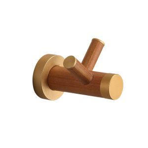 European Simple Style Bathroom Products Bathroom Accessories Wood Art Robe Hook