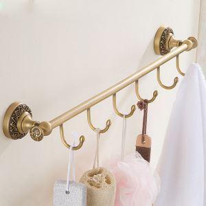 European Retro Style Bathroom Products Bathroom Accessories Copper Art Robe Hook