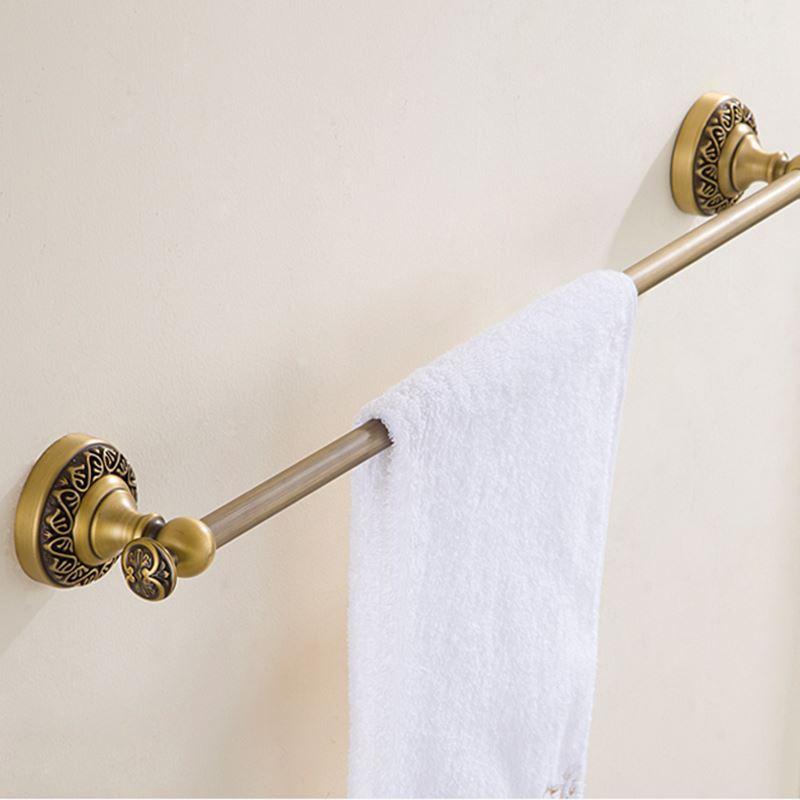 Bathroom towel bars european retro style bathroom products bathroom accessories copper art - Bathroom accessories towel bars ...