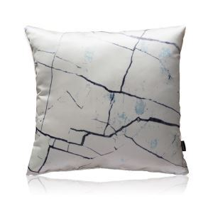 Modern Crackle Satin Printing Pillow Cover