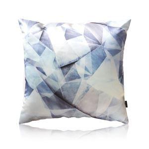 Modern Waterwaves Pattern Satin Printing Pillow