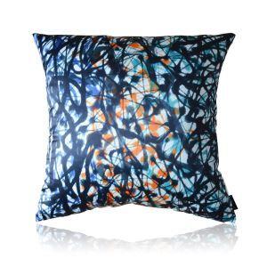 Modern Chinese Ink Patterns Satin Printing Pillow