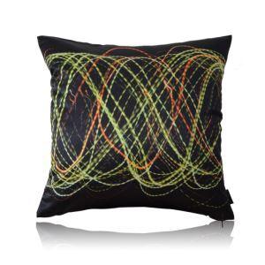 Modern Light Night Theme Pattern Satin Printing Pillow