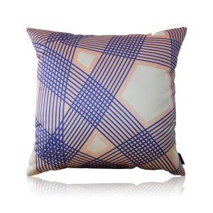 Modern Gradient Line pattern Satin Printing Pillow