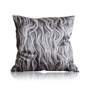 Modern Fur Texture Pattern Satin Printing Pillow