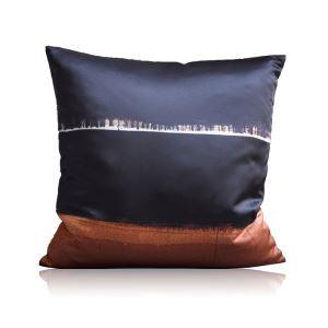 Modern Tie-dye Gradient Texture Pattern Satin Printing Pillow