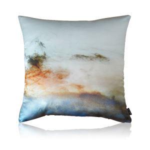 Modern Artist Painting Pattern Satin Printing Pillow